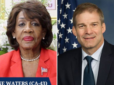 Rep. Maxine Waters Tells Rep. Jim Jordan to 'Shut Your Mouth' During…