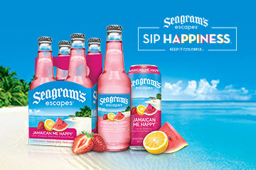 Sip Happiness with Seagram's Escapes and Enter for a Chance to Win!