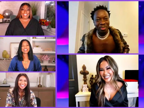 Part One: 'VH1 Couples Retreat' Stars Michael Blackson & Rada Dish About…