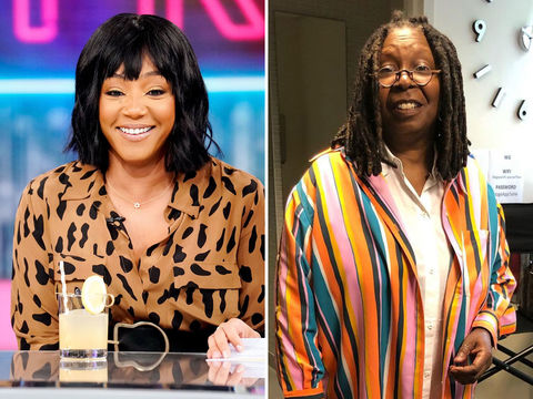 Whoopi Goldberg Surprises Fellow Grammy Winner Tiffany Haddish with Heartfelt…