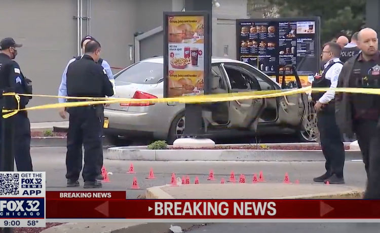McDonald's Shooting in Chicago Kills 7-Year-Old Girl, Injures Father
