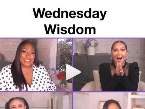 WEDNESDAY WISDOM FROM @Garcelle.