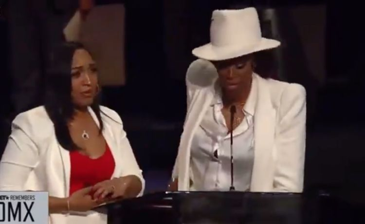 DMX's Ex-Wife and Fiancée Share Touching Moment at Funeral