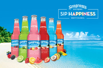 Keep it Colorful with Seagram's Escapes Variety Pack
