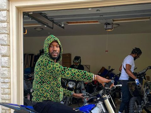 Meek Mill Shares Rare Photo of 1-Year-Old Son on Their Birthday!