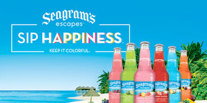 Keep it Colorful with Seagram's Escapes Variety…