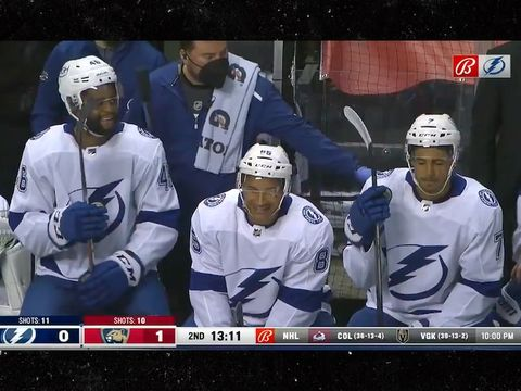 Tampa Bay Lightning Start 3 Black Forwards for the 'First Time Ever in NHL…